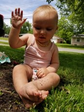 When all else fails, digging in the dirt always makes for a good time.